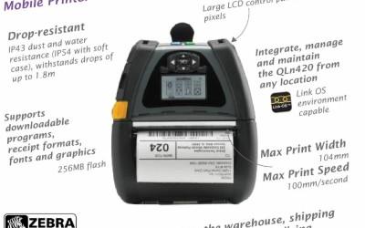 Product of The Week – Zebra QLn420 Portable Printer