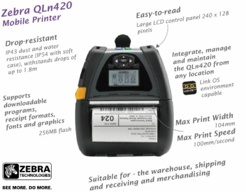 Product of The Week – Zebra QLn420 Portable Printer