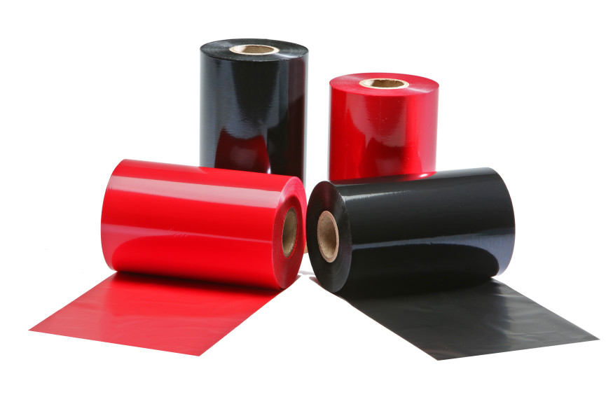 Rolls of Colour Wax/Resin Thermal Transfer Ribbons.