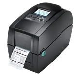 A GoDex Desktop Printer.