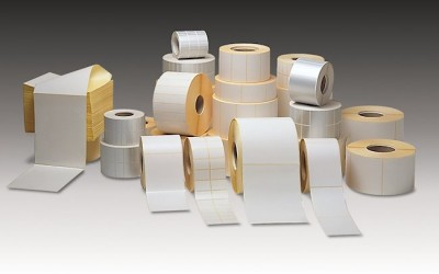 Small Roll 19mm Core Labels and Receipt Rolls