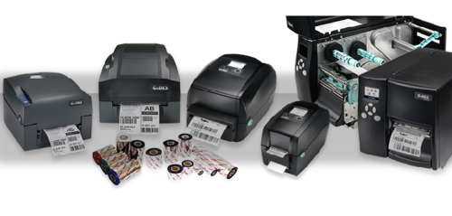 The GoDex printer family ranges.